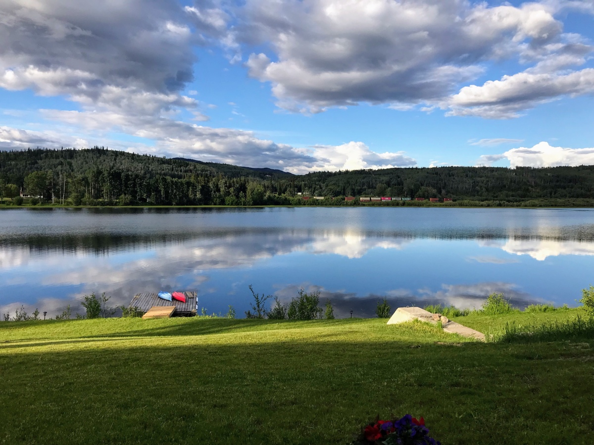 Final days at Burns Lake—Sun, Kayaking, Lakes, School, Friends, Goodbyes.